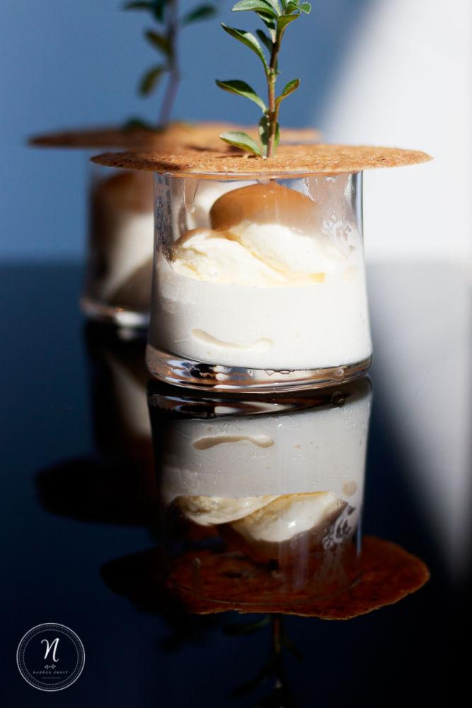 Dessert glacé