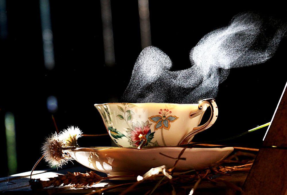 L'heure du thé un après midi d'été